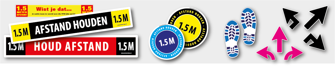 Corona stickers