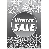 Poster winter sale PO-035