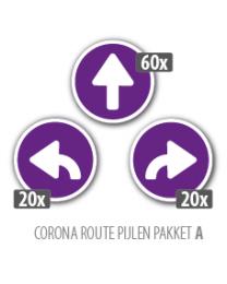 Corona routepakket A2