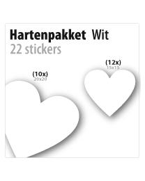 harten pakket STP-03 wit