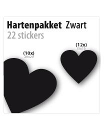 harten pakket STP-03 zwart