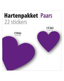 harten pakket STP-03 paars
