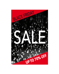 Black Friday sale poster BF-012