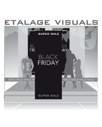 etalage visual Black Friday BF-016