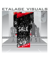 etalage visual Black Friday BF-017