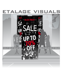 etalage visual Black Friday BF-018
