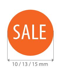Brilsticker sale rond BR-0006