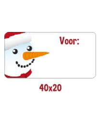 Cadeaustickers sneeuwpop ETI-029
