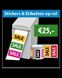 Stickers op rol SR-033