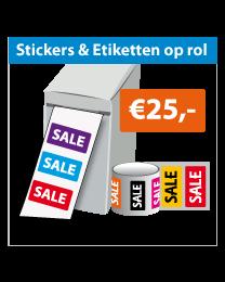 Stickers op rol SR-032