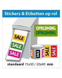 Stickers op rol SR-029