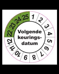 Keuringssticker KS-006
