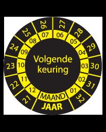 Keuringssticker KS-008