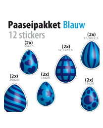 paasei pakket STP-04 blauw