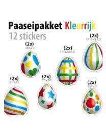 paasei pakket STP-04 kleurrijk