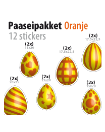 paasei pakket STP-04 oranje