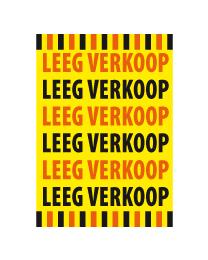 Poster Leegverkoop PO-041