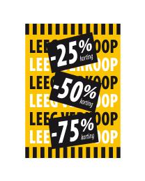 Poster Leeg verkoop PO-043