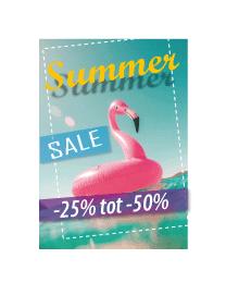 Poster zomer sale PO-055
