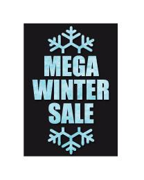 Poster mega winter sale PO-028