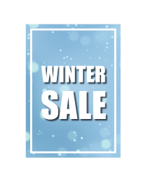 poster winter sale PO-023