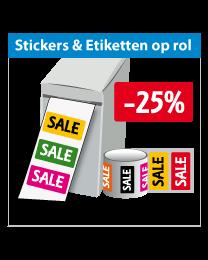 Stickers op rol SR-031