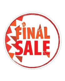 rond final sale sticker