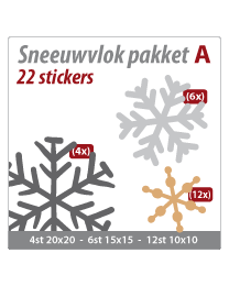 Sneeuwvlok pakket VLOK-01
