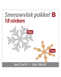 Sneeuwvlok pakket VLOK-02