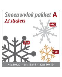 Sneeuwvlok pakket VLOK-04