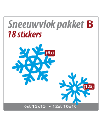 Sneeuwvlok pakket VLOK-11
