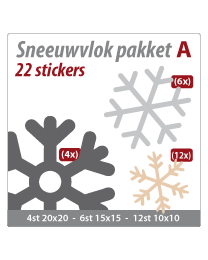 Sneeuwvlok pakket VLOK-22