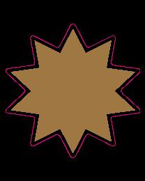 Etalagesticker ster