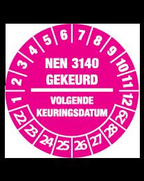 Keuringssticker KS-007