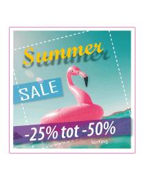Etalagesticker summer sale