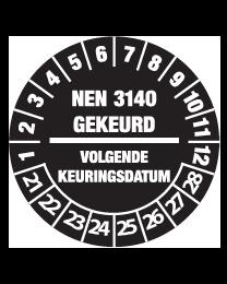 Keuringssticker KS-005
