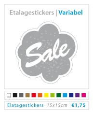 variabele etalagesticker