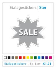 ster etalagestickers